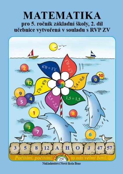 Matematika pro 5.ročník ZŠ 2.díl - učebnice