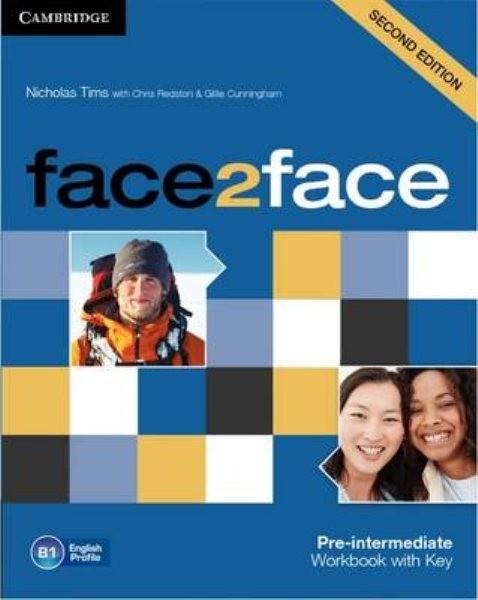 Face2face 2nd edition Pre-intermediate Workbook with Key (pracovní sešit s klíčem)